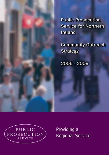 Community Outreach Strategy 2006 - Public Prosecution Service