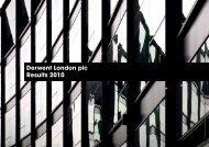 Dowload Results Presentation - Derwent London