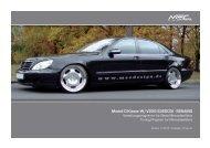W220 Pricelist International Front.indd - MEC DESIGN