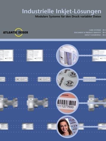 Industrielle Inkjet-Lösungen - Atlantic Zeiser
