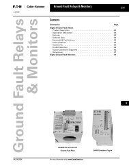 Ground Fault Relays & Monitors - of downloads