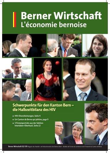 Magazin Berner Wirtschaft 02/2009 - Handels- und Industrieverein ...