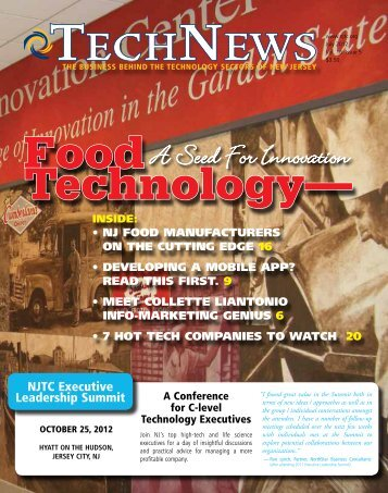 A Seed For Innovation - NJTC TechWire