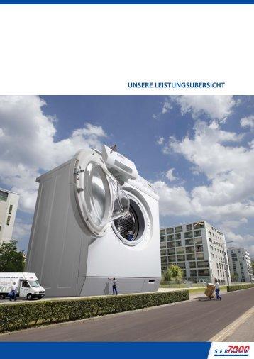 UNSERE LEISTUNGSÃœBERSICHT - Service 7000 AG