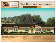 The Rancho Ponderosa - Palm Harbor Homes