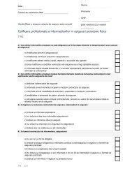 Test 91 - Institutul de Management in Asigurari