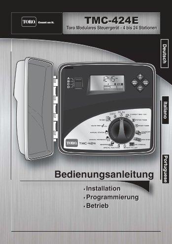 Handbuch TMC 424 E