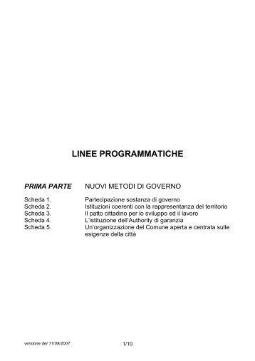 Linee programmatiche 17_09 - Urban Center
