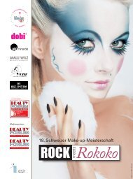 ANMELDUNG zur 18. Schweizer Make-up-Meisterschaft - Beauty Forum