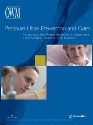 Pressure Ulcer Prevention and Care: - Ostomy Wound Management