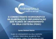 o conhecimento hidrográfico na elaboração e implementação dos ...