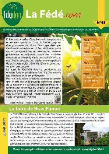 La Fédé - FDGDON Réunion