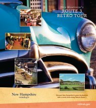 Route 3 RetRo touR - New Hampshire