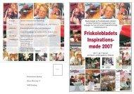 Friskolebladets Inspirations- møde 2007 - Friskolebladet.dk