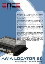 Urządzenie AWIA Locator IIe typ 01/08 stanowi samodzielny ... - Ente