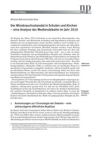 np4/2011 - Verlag Neue Praxis