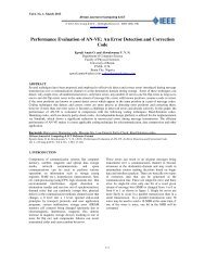 An Error Detection and Correction Code - IEEE Afr J Comp & ICTs