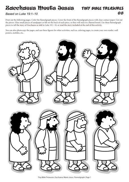 Zacchaeus Coloring Page – Children's Ministry Deals | 640x453