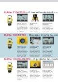 Leica Builder ... Construído para construir - SERTOPO.net - Page 3