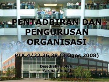 pengurusan organisasi - NRE