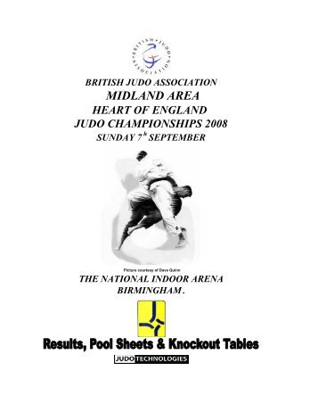 Results - British Judo Association