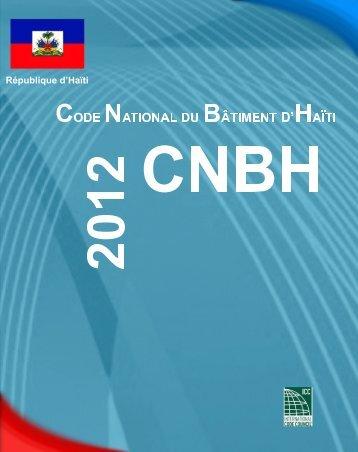 Code National du Bâtiment d'Haïti - Ministère des Travaux Publics ...