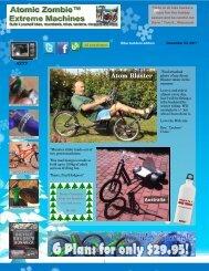 Atom Blaster - AtomicZombie - DIY Plans for Recumbent Bikes ...