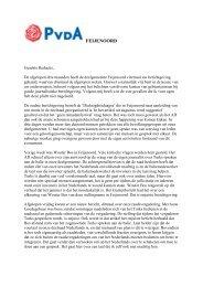 brief pvda fractie feijenoord aan redactie ad.pdf - PvdA Rotterdam
