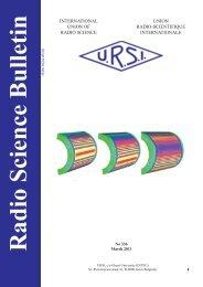 Radio Science Bulletin 336 - March 2011 - URSI