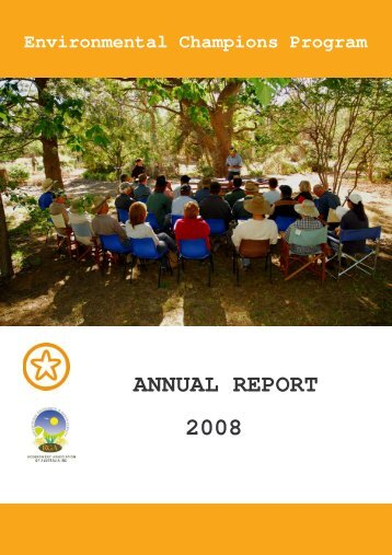 2008 ECP annual report - Ricegrowers' Association of Australia