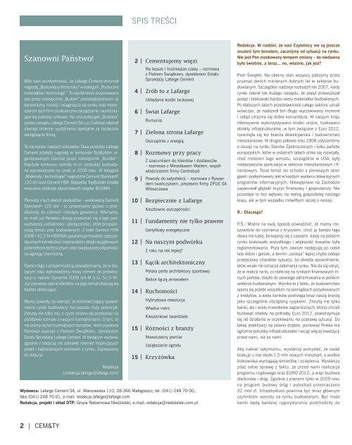 CEM&TY; nr 1(8) - Lafarge