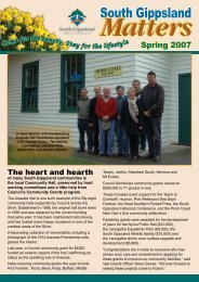 South_Gippsland_Matters_Spring_07.pdf - South Gippsland Shire ...