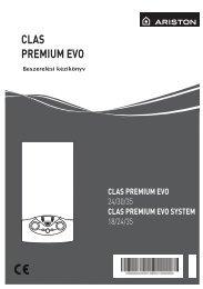 Clas Premium EVO 24 - Ariston Szerviz