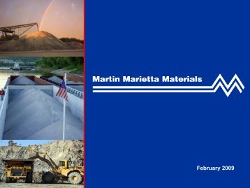 Martin Marietta Materials - Rationalinvesting.com