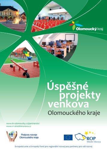 Úspěšné projekty venkova Olomouckého kraje - Olomoucký kraj