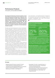 Performance Products - BASF Report 2012