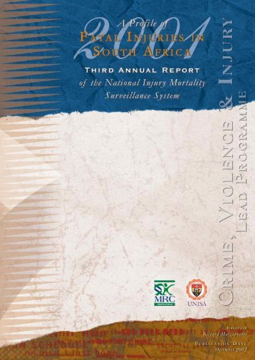 fatal injuries annual report 02 FINAL.qxd - South African Health ...