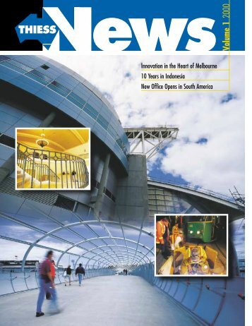 Thiess News, Volume 1, 2000