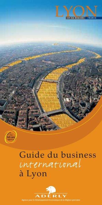 Guide du Business International à Lyon - Aderly
