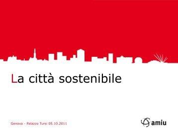 gestione del ciclo dei rifiuti a Genova - Urban Center
