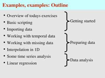working outline example