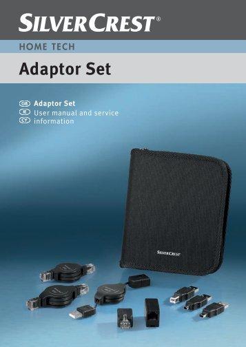 Adaptor Set - Targa Service Portal