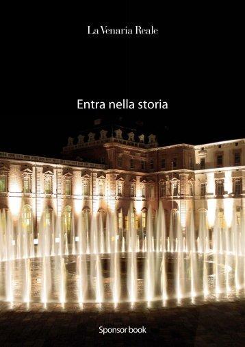 brochure sponsor book - La Venaria Reale
