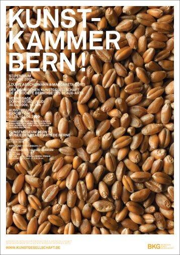 Download Einladungskarte AC 2009 (pdf, 792 KB) - Bernische ...
