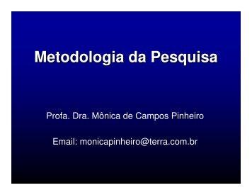 (Microsoft PowerPoint - Metodologia da Pesquisa Cient\355fica ...