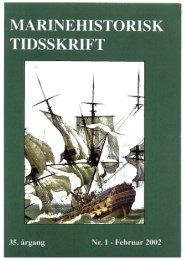 Nr. 1 / 2002 - Marinehistorisk Selskab og Orlogsmuseets Venner
