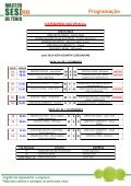 CATEGORIA - SESI Esporte - Page 2