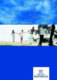 Výročná správa 2005 - Komunálna Poisťovňa