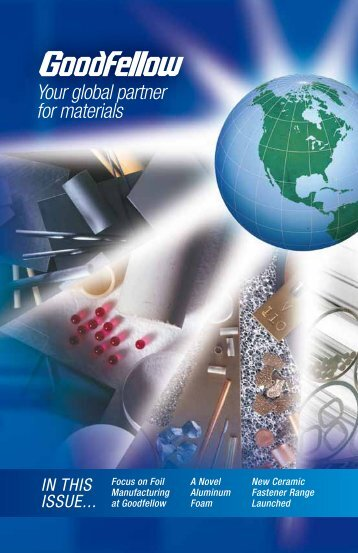 Your global partner for materials - Goodfellow USA