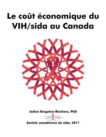 coûts économiques du VIH/sida au Canada - Canadian AIDS Society